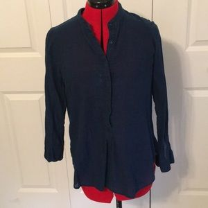 Navy Madewell Button Down